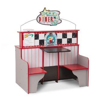 Star Diner Restaurant  by Melissa and Doug Wooden Toys