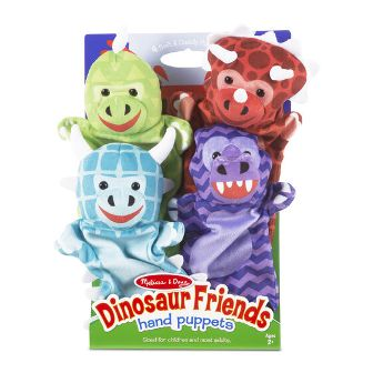 Dinosaur Friends Hand Puppets Melissa and Doug