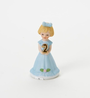 Growing Up Girls Birthday Figurines by Enesco